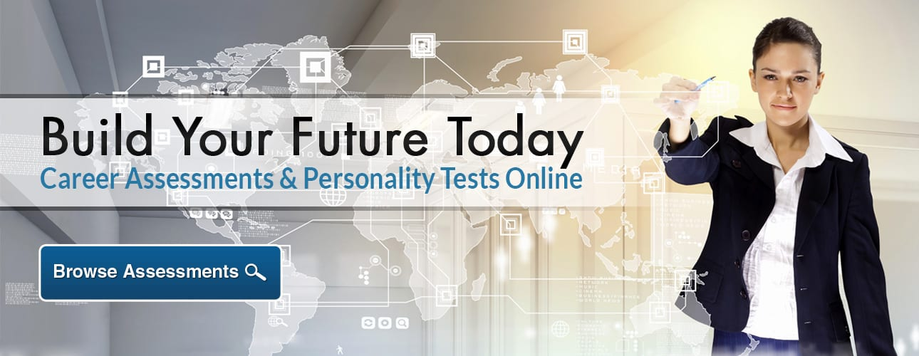 Career Assessments & Personality Tests Online Banner