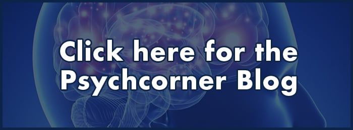 Photo of a brain - link to Psychcorner Blog